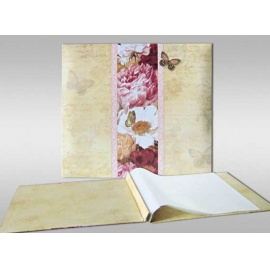Album pro scrapbook - motýli