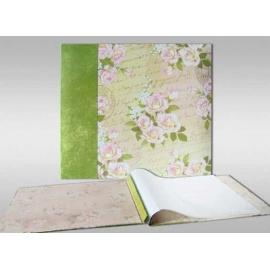 Album pro scrapbook - růže