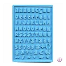 Forma silikonová pro pryskyřici  -  abeceda 20*30 cm