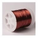Lakovaný měděný drátek 0,3 mm/50 m hnědý