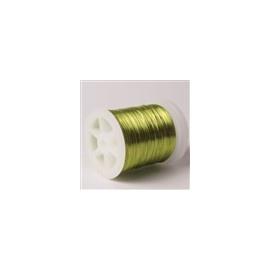 Lakovaný měděný drátek 0,3 mm/50 m kiwi