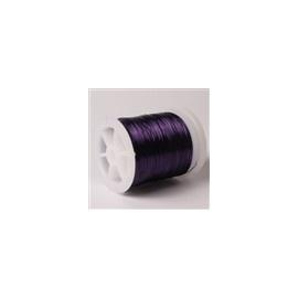 Lakovaný měděný drátek 0,3 mm/50 m purpurová