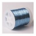 Lakovaný měděný drátek 0,3 mm/50 m modrá světlá