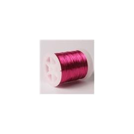 Lakovaný měděný drátek 0,3 mm/50 m fuchsie
