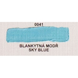 Umton olejová barva Blankytná modř 60 ml