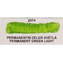 Umton olejová barva permanentní zeleň světlá  60 ml
