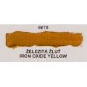 Umton olejová barva Železitá žluť  60 ml
