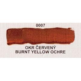Umton olejová barva Okr červený 60 ml