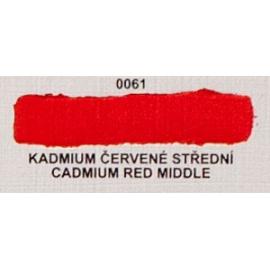 Umton olejová barva kadmium červené střední 60 ml