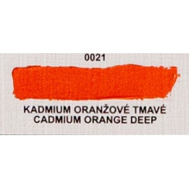 Umton olejová barva kadmium oranžové tmavé 60 ml
