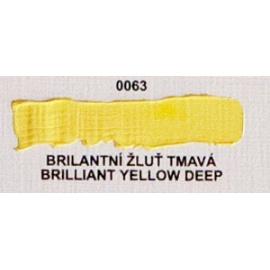 Umton olejová barva brilantní žluť tmavá 60 ml
