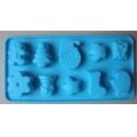Forma silikonová pro mýdlo vánoční