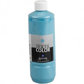 Barva na textil 500 ml - světle modrá