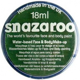 Barva na obličej sada Snazaroo zelená