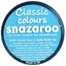 Barva na obličej sada Snazaroo tyrkysová
