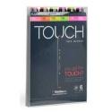 Touch marker 6 ks set fluo
