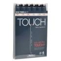 Touch marker 6 ks set skin