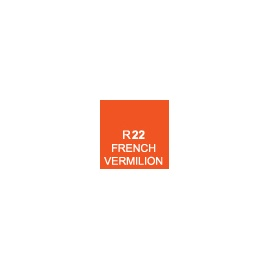 Touch marker R22 - french vermilion
