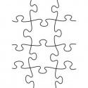 Embossová kapsa puzzle