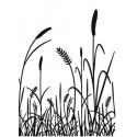 Embossová kapsa traviny