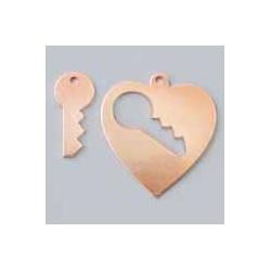 Výsek srdce s klíčem