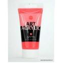 Akrylová  fluorescetní UV barva 75 ml - červená