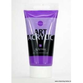 Akrylová  fluorescetní barva 75 ml - fialová