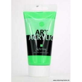 Akrylová  fluorescetní UV barva 75 ml - zelená