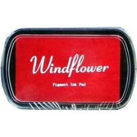 Pigmentový polštářek  Windflover - červený