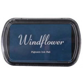 Pigmentový polštářek  Windflover - tmavě modrá