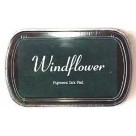 Pigmentový polštářek  Windflover - tmavě zelená