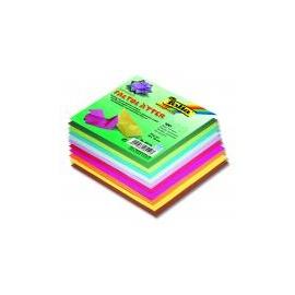 Origami papír 10x10 cm 100 archů v 10ti barvách 70 gr.
